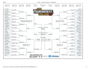 ESPN - Tournament Challenge - seveneighteen
